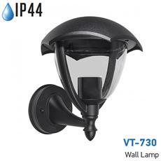 Lampada Da Muro Applique E27 Grafite Esterno Ip44 Vt-730 7046