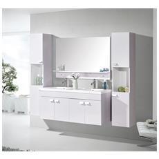 Mobile Bagno Arredo Bagno Completo 120 Cm Lavabo 2 Rubin. W. Elegance - Nuovo Imballato!