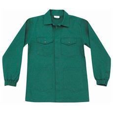 Giacca Serie 150 In Cotone Colore Verde Smeraldo Taglia 2xl