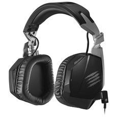 Cuffie con Microfono per Giochi PC Connessione Cavo Nera 2 m