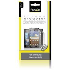 Pellicola Protettiva Anti Impronta per Samsung Galaxy A3 (7) (2Pz)