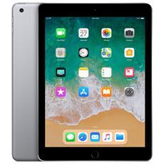 """iPad (2018) 128 GB 9.7"""" Wi-Fi - 4G Grigio Siderale"""