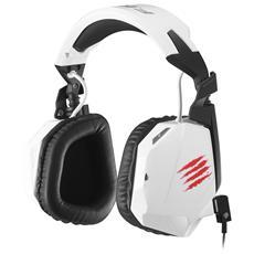 Cuffie gaming con Microfono F. R. E. Q. 3 Connessione Cavo 2 m Colore Bianco