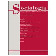 Sociologia. Rivista quadrimestrale di scienze storiche e sociali (2014) . Vol. 3