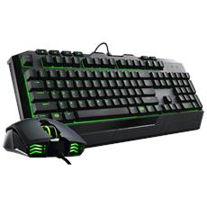 CM Storm Bundle Gaming Devastator II Tastiera + Mouse Versione Led Green (Layout Italiano)