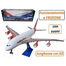Aereo A380 Airbus Con Luci E Suoni Gioco Per Bambini *04399