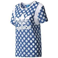 T-shirt Tokyo Boyfriend Trefoil Blu S