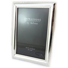 photo frame 'design' cromo (10x15 cm) - [ n4797]