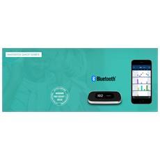 Bg Star Mystar Plus Kit Di Misrurazione Della Glicemia - Glucometro + Strisce + Lancette Pungidito - Con Sistema Bluetooth Bgstar