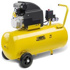 B20 - 50 Lt Compressore Giallo Per Aria Compressa - Montecarlo Baseline