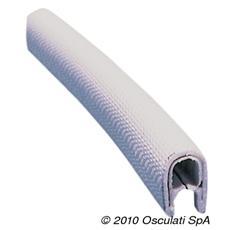 Profilato PVC bianco 4 x 6 mm