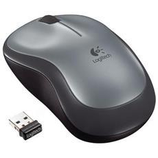 Mouse Wireless M185 Colore Nero / Grigio