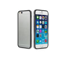 Cover Bumper In Pvc Trasparente, Colore Nero Per Iphone 6 4,7