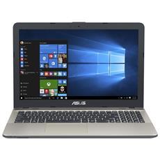 "Notebook VivoBook Max X541NA-GQ028 Monitor 15.6"" HD Intel Celeron N3350 Ram 4GB Hard Disk 500GB 2xUSB 3.0 Free Dos"