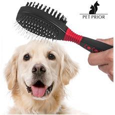 Spazzola Doppia Per Animali Domestici Pet Prior