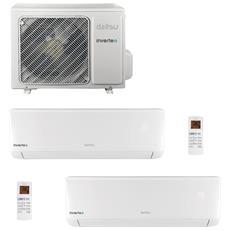 Condizionatore Fisso Dualsplit ASD912UI ASD Potenza 9000+12000 BTU / H Classe A++ / A+ Inverter