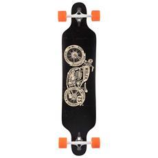 """Longboard Brat Racer 41"""""""" S01lb0050 Skateboard Tipo Longboard Completo - Componenti Di Alta Qualità"""