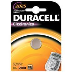 DL2025 Batteria Litio Tipo Bottone Voltaggio 3.0 V