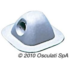 Passacima grigio 96x96 mm