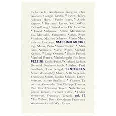 Massimo Minimi. Pizzini / Sentences. Ediz. italiana e inglese. Vol. 2