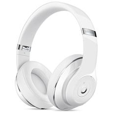 Cuffie Wireless Beats Studio Gloss colore Bianco
