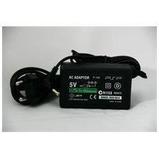 Caricabatterie Alimentatore Per Sony Playstation Psp 1000 2000 3000 Slim Fat