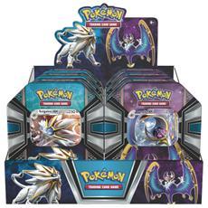 Pokemon - Tin da collezione Leggende di Alola espositore