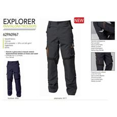 Pantalone Explorer Grigio Xl