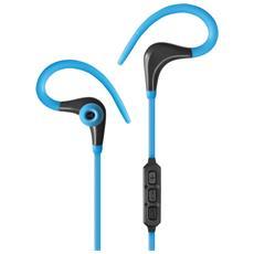 SB-HP ACS1B - Auricolari Audio Stereo Bluetooth in-ear con Microfono Azzurro