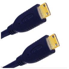 HDMI, mini plug 19p / mini plug 19p - 3.0M 3m Mini-HDMI Mini-HDMI Nero cavo HDMI