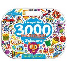 Megalibri - 3000 Incredibili Stickers