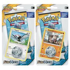Pokemon Sole Luna 1 busta blister+moneta