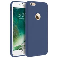 Cover Iphone 6 Plus / 6s Plus Soft Touch Silicone Gel Morbido - Blu