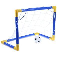 Mini Football Soccer Goal Post Net Set Con Pompa Interna All'aperto Bambini Sport Giocattolo