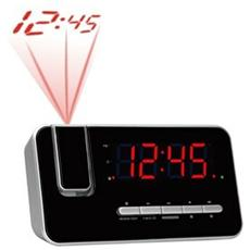 CRP-618, Orologio, LED, Digitale, FM, PLL, AC, Rosso