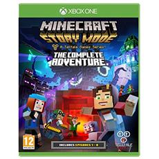 Minecraft: Story Mode - The Complete Adventure, Xbox 360 Basic Xbox 360 videogioco