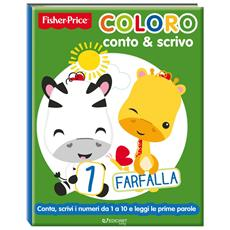 Fisher Price - Coloro Conto E Scrivo