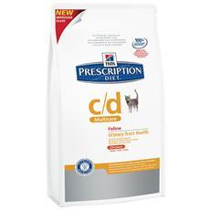 Alimento Per Gatto Prescription Diet Cd Multicare Feline Adult Urinary Trach Health Chicken 1,5kg