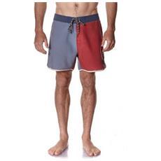 Costume Uomo Retro Refill Boardshort Arancio Grigio 30