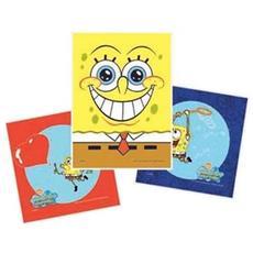 Set 3 Cuscini Spongebob Squarepants Bubble 40 X 40 Cm