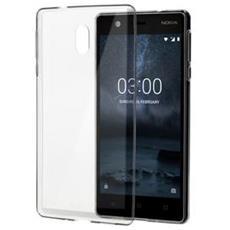 Cover Slim Crystal per Nokia 3 colore trasparente