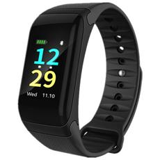 Smart Band F1 Activity Tracker Fitness Cardio Bluetooth Pedometro Calorie Nero