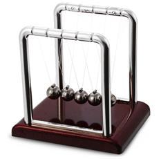 Newton Culla Acciaio Equilibrio Palla Fisica Scienza Pendolo Scrivania Divertente Giocattolo Regalo