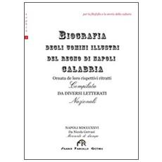 Biografia degli uomini illustri del Regno di Napoli-Calabria