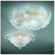 Illuminazione 2036-85 - Plafoniera Cristallo Graniglia