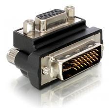 VGA Adapter, DVI-I, 15-pin FM VGA, Maschio / femmina, Nero