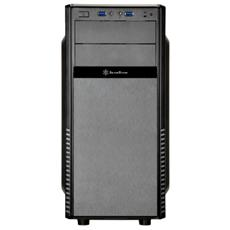 Case SST-PS11B-Q Middle Tower, ATX, Micro-ATX, Mini-ITX Colore Nero