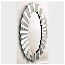 Specchiera ovale - specchio grande da parete