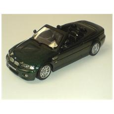 10033 Bmw M3 Cabrio 2001 Dark Green 1/43 Modellino