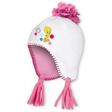 Cappello Fleece Titty Perù Unica Bianco Rosa